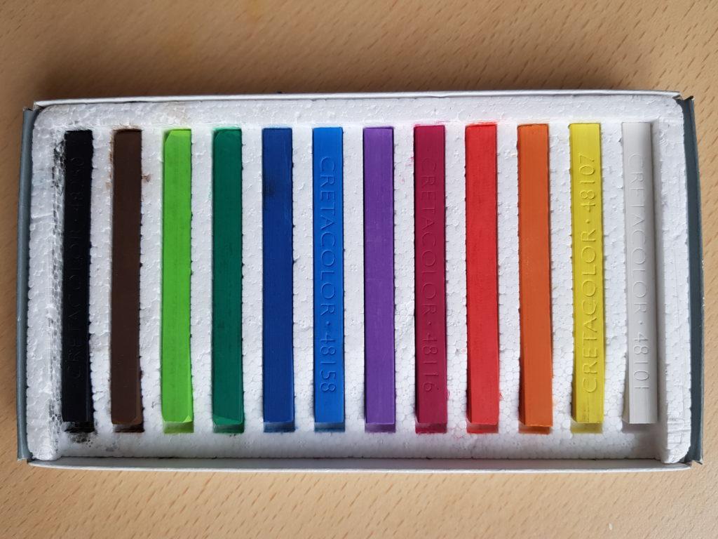 Cretacolor Harte Pastellfarben