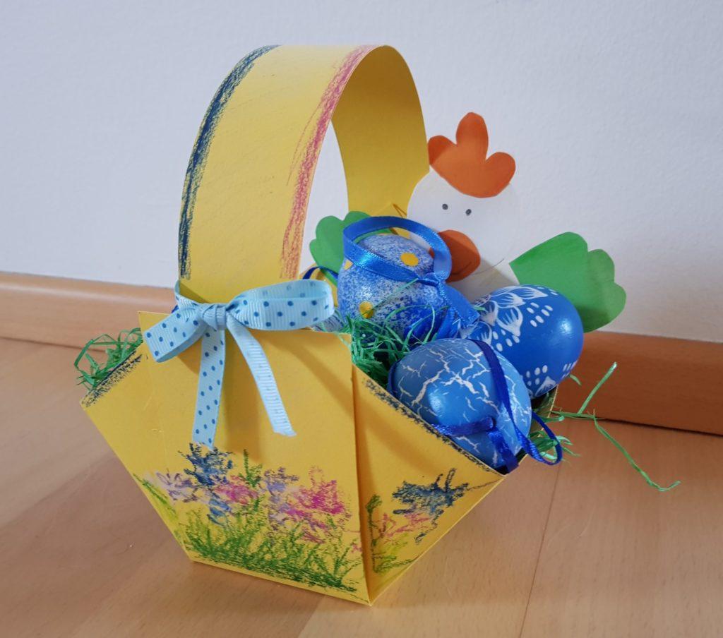 Osterkörbchen aus Papier